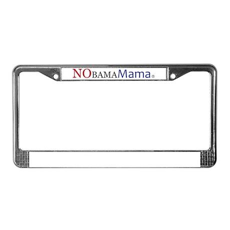 NObamaMama License Plate Frame