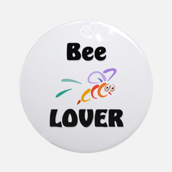 Bee Lover Ornament (Round)