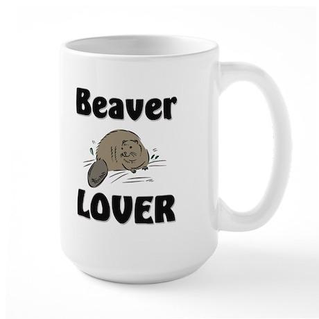Beaver Lover Large Mug