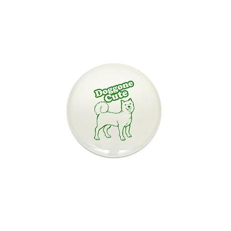 Doggone Cute Green Doggie Mini Button (10 pack)
