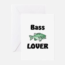 Bass Lover Greeting Cards (Pk of 10)