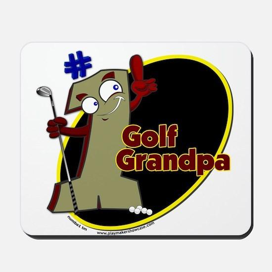 Number 1 Golf Dad Mousepad