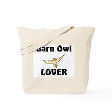 Barn Owl Lover Tote Bag