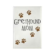 Greyhound Mom Rectangle Magnet