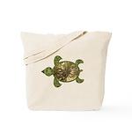 Garden Turtle Tote Bag