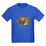 Garden Turtle Kids Dark T-Shirt
