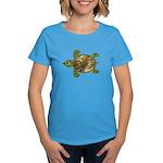 Garden Turtle Women's Dark T-Shirt