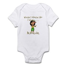 WIGU Hula Girl Infant Bodysuit