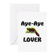 Aye-Aye Lover Greeting Cards (Pk of 10)