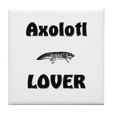 Axolotl Lover Tile Coaster