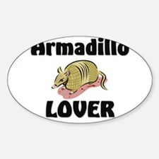 Armadillo Lover Oval Decal