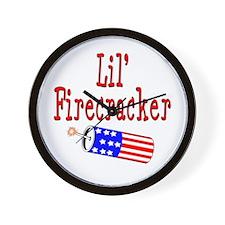 Lil' Firecracker Wall Clock
