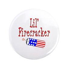 """Lil' Firecracker 3.5"""" Button"""