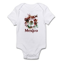 Butterfly Mexico Infant Bodysuit