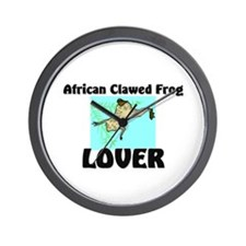 African Clawed Frog Lover Wall Clock