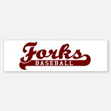 Forks Baseball Bumper Bumper Bumper Sticker