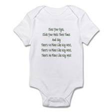 No Place Key West Infant Bodysuit