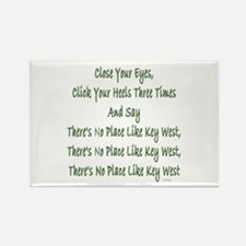No Place Key West Rectangle Magnet (100 pack)