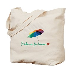 Forks is for Lovers Tote Bag