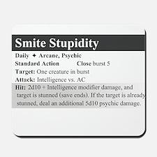 SmiteStupidity Mousepad