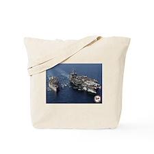 USS Enterprise CVN-65 Tote Bag