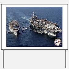 USS Enterprise CVN-65 Yard Sign