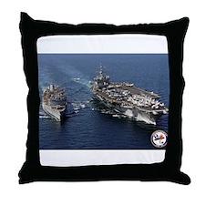 USS Enterprise CVN-65 Throw Pillow