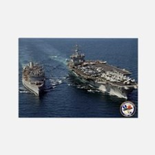 USS Enterprise CVN-65 Rectangle Magnet