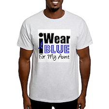 I Wear Blue (Aunt) T-Shirt