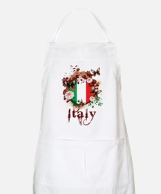 Butterfly Italy BBQ Apron