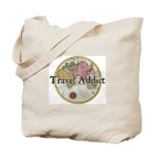 Travel Addict 'Style 2' Tote Bag