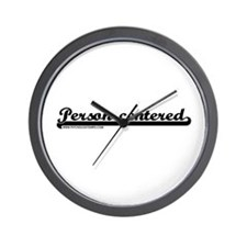 Softball Person Centered Wall Clock