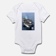 USS Enterprise CVN-65 Infant Bodysuit
