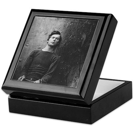 Lewis Powell Mugshot Keepsake Box