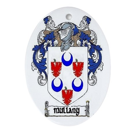 Mullany Coat of Arms Keepsake Ornament