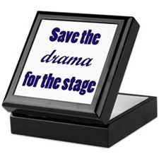 Save the Drama Keepsake Box