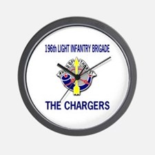 196th CHARGERS Wall Clock
