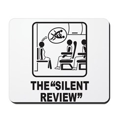 Silent Review Mousepad