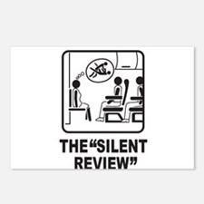 Silent Review Postcards (Package of 8)