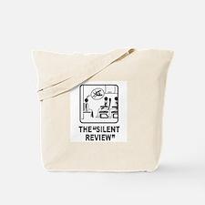 Silent Review Tote Bag