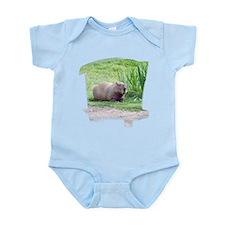 Capybara Laying Down Infant Bodysuit