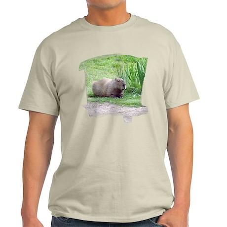 Capybara Laying Down Light T-Shirt