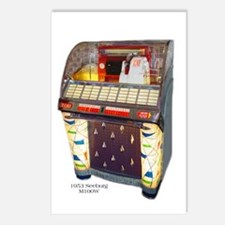 Seeburg M100W Jukebox Postcards (Package of 8)