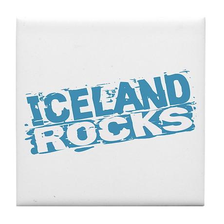 Iceland Rocks Tile Coaster
