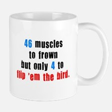 46 muscles to frown Mug