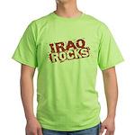 Iraq Rocks Green T-Shirt