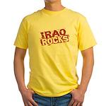 Iraq Rocks Yellow T-Shirt