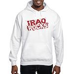 Iraq Rocks Hooded Sweatshirt