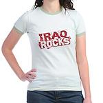 Iraq Rocks Jr. Ringer T-Shirt