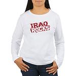 Iraq Rocks Women's Long Sleeve T-Shirt